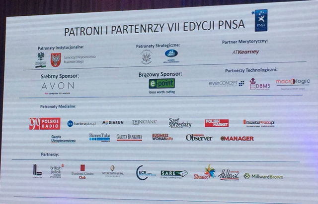 Gala VII edycji Polish National Sales Awards