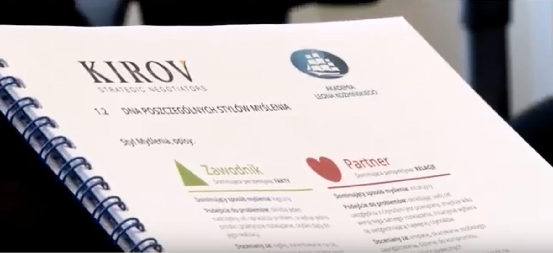 """Kirov & Partners"" film – Nikolay Kirov, Nadia Kirova, Iwona Bobrowska Budny"
